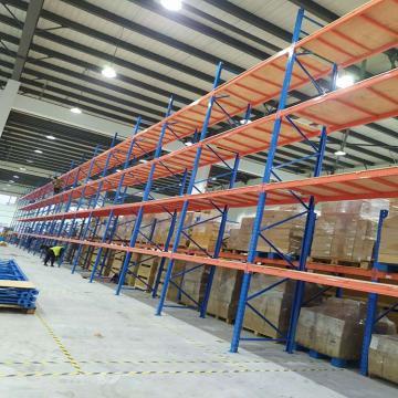 Boltless Rivet Angle Teardrop Cantilever Metal Steel Warehouse Pallet Storage Shelving