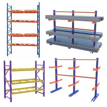 Heavy Duty Single Side Racking Steel Cantilever Shelf for Warehouse
