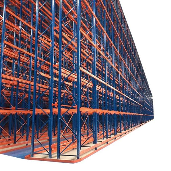 Drive-Through Warehouse Metal Storage Rack