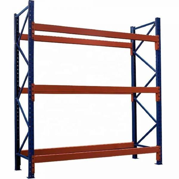 Floor Model Metal Slanted Red Wine Shelf