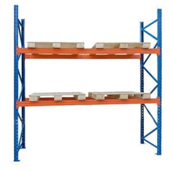 Industrial Medium Duty Adjustable Steel Metal Warehouse Storage Tire Shelf with Long Span