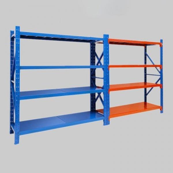 5 Tiers Durable Steel Rack Snacks Storage Shelving Unit with Castors